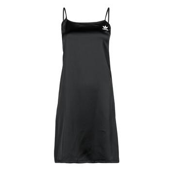 vaatteet Naiset Lyhyt mekko adidas Originals DRESS Musta