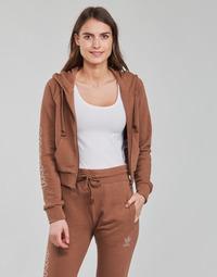 vaatteet Naiset Svetari adidas Originals CROPPED TT Ruskea