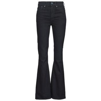 vaatteet Naiset Bootcut-farkut G-Star Raw 3301 FLARE Sininen