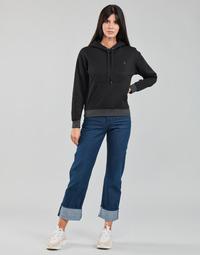 vaatteet Naiset Suorat farkut G-Star Raw TEDIE ULTRA HIGH STRAIGHT Sininen