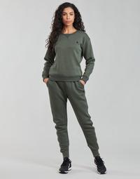 vaatteet Naiset Verryttelyhousut G-Star Raw PREMIUM CORE 3D TAPERED SW PANT WMN Harmaa