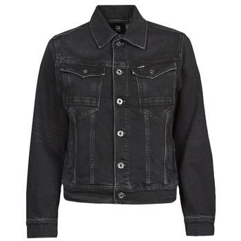 vaatteet Naiset Farkkutakki G-Star Raw ARC 3D JACKET Musta