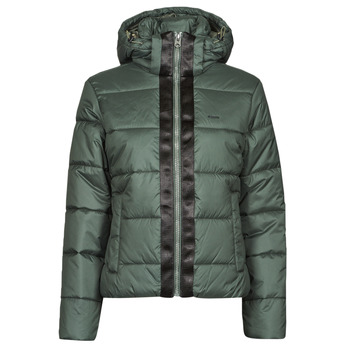 vaatteet Naiset Toppatakki G-Star Raw MEEFIC HDD PDD JACKET WMN Harmaa / Vihreä