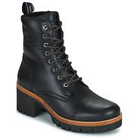 kengät Naiset Bootsit Panama Jack PADMA Musta