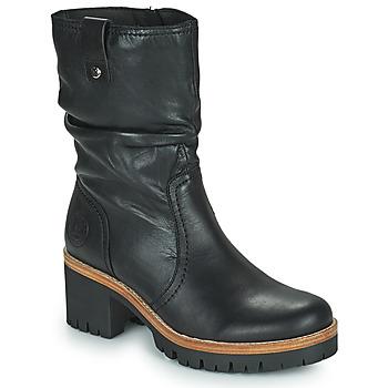 kengät Naiset Bootsit Panama Jack PIERA Musta