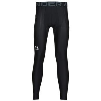 vaatteet Miehet Legginsit Under Armour UA HG ARMOUR LEGGINGS Musta / Valkoinen