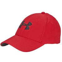Asusteet / tarvikkeet Miehet Lippalakit Under Armour UA MEN'S BLITZING 3.0 CAP Punainen / Musta