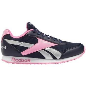kengät Tytöt Matalavartiset tennarit Reebok Sport Royal Cljog 2 Mustat, Vaaleanpunaiset
