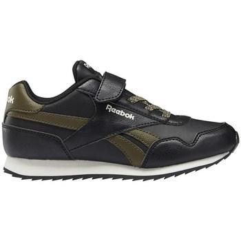 kengät Lapset Matalavartiset tennarit Reebok Sport Royal Cljog 30 1V Mustat, Oliivinväriset