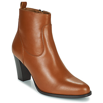 kengät Naiset Nilkkurit Betty London PETRA Konjakki