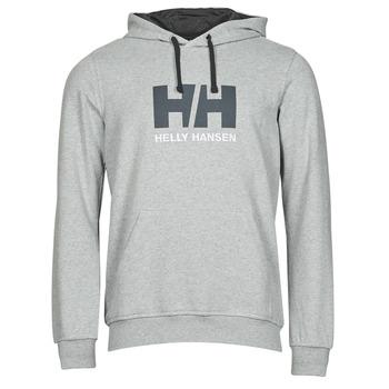 vaatteet Miehet Svetari Helly Hansen HH LOGO HOODIE Harmaa