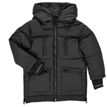 vaatteet Tytöt Toppatakki Karl Lagerfeld DIAMANT NOIR Musta