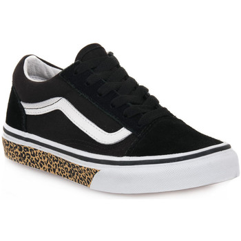 kengät Pojat Matalavartiset tennarit Vans OLD SKOOL SUEDE ANIMAL J Nero