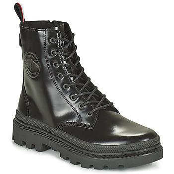 kengät Bootsit Palladium PALLATROOPER Musta