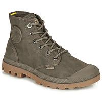 kengät Bootsit Palladium PAMPA CANVAS Ruskea