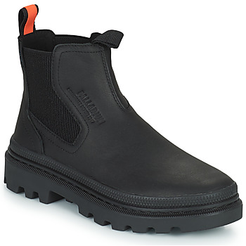 kengät Bootsit Palladium PALLATROOPER WATERPROOF Musta