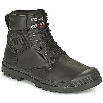 kengät Bootsit Palladium SPORTCUFF ESSENTIAL WATERPROOF Musta