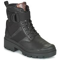 kengät Naiset Bootsit Palladium PALLABASE TACT STR L Musta