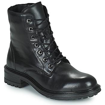 kengät Naiset Bootsit San Marina CHAMAL Musta