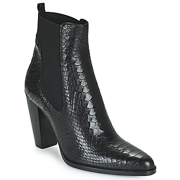 kengät Naiset Bootsit San Marina ALENA Musta