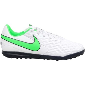 kengät Lapset Jalkapallokengät Nike Tiempo Legend 8 Club TF JR Valkoiset