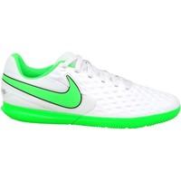 kengät Lapset Jalkapallokengät Nike JR Tiempo Legend 8 Club IC Valkoiset