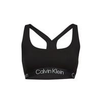 Alusvaatteet Naiset Rintaliivit Calvin Klein Jeans UNLINED BRALETTE Musta