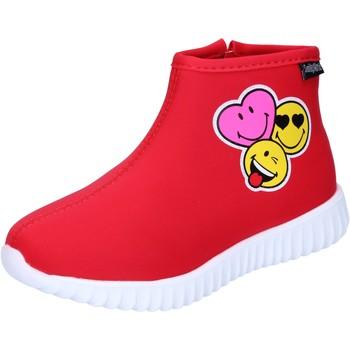 kengät Tytöt Nilkkurit Smiley  Punainen