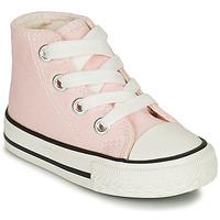 kengät Tytöt Korkeavartiset tennarit Citrouille et Compagnie NEW 19 Vaaleanpunainen