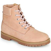 kengät Tytöt Bootsit Citrouille et Compagnie PACITO Vaaleanpunainen