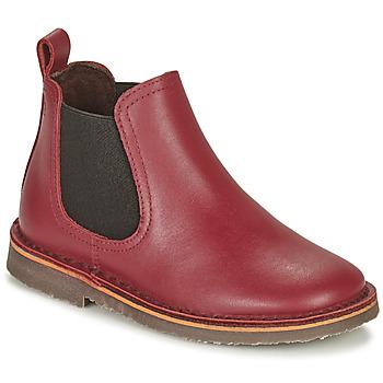 kengät Lapset Bootsit Citrouille et Compagnie HOVETTE Viininpunainen