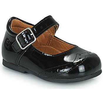 kengät Tytöt Balleriinat Citrouille et Compagnie PULLO Musta
