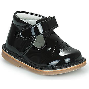 kengät Tytöt Balleriinat Citrouille et Compagnie OTAL Musta