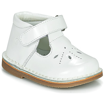kengät Tytöt Balleriinat Citrouille et Compagnie OTAL Valkoinen