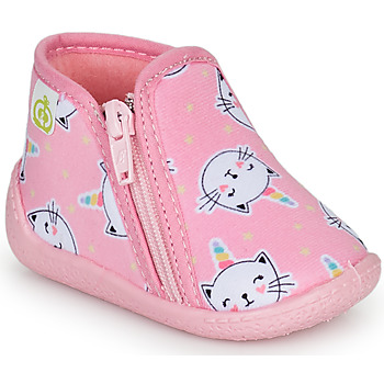 kengät Tytöt Tossut Citrouille et Compagnie PAGLIATELLE Vaaleanpunainen