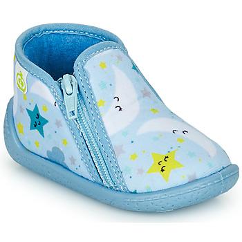 kengät Lapset Tossut Citrouille et Compagnie PAVIOLI Taivaansininen