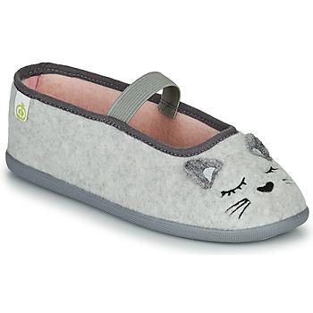 kengät Tytöt Tossut Citrouille et Compagnie PASTALDENTE Harmaa / Vaaleanpunainen