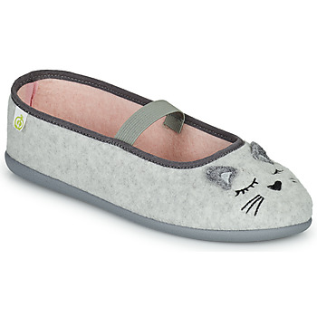 kengät Tytöt Tossut Citrouille et Compagnie PASTALDENTE Harmaa