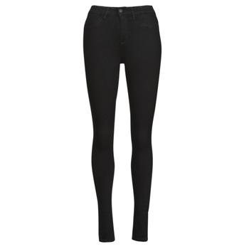 vaatteet Naiset Slim-farkut Noisy May NMCALLIE Musta