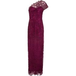 vaatteet Naiset Pitkä mekko Paper Dolls  Wine Purple