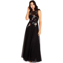 vaatteet Naiset Pitkä mekko Little Mistress  Black
