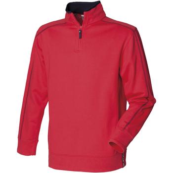vaatteet Miehet Fleecet Front Row FR802 Red/Navy