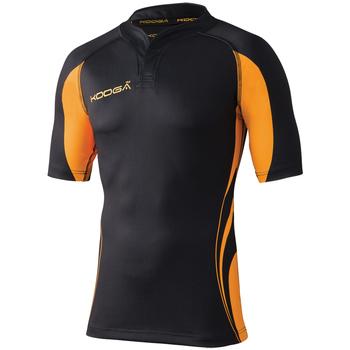 vaatteet Miehet Lyhythihainen t-paita Kooga KG105 Black / Gold