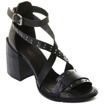 kengät Naiset Korkokengät Rebecca White T0501 |Rebecca White| D??msk?? sand??ly na vysok??m podpatku z ?ern??
