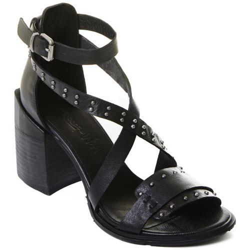 kengät Naiset Korkokengät Rebecca White T0501 Musta