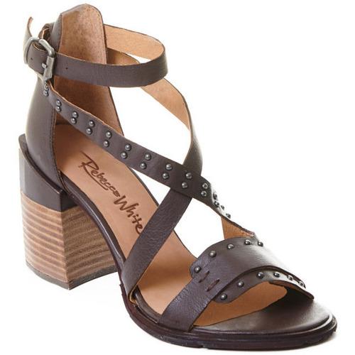 kengät Naiset Korkokengät Rebecca White T0501 Ruskea