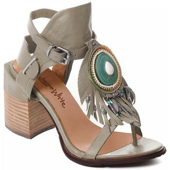 kengät Naiset Korkokengät Rebecca White T0509 |Rebecca White| D??msk?? sand??ly na vysok??m podpatku z hov??z?