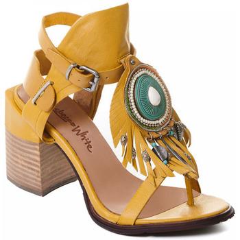 kengät Naiset Korkokengät Rebecca White T0509 |Rebecca White| D??msk?? sand??ly na vysok??m podpatku z okrov??