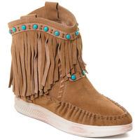kengät Naiset Nilkkurit Rebecca White T6016 Ruskea