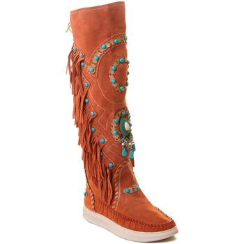 kengät Naiset Saappaat Rebecca White T6012 Punainen